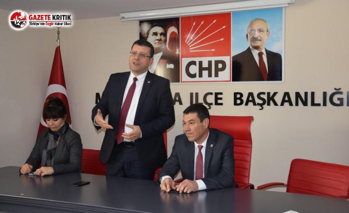 CHP'li Kumbul'dan CHP Muratpaşa İlçe Başkanlığı'nı ziyaret
