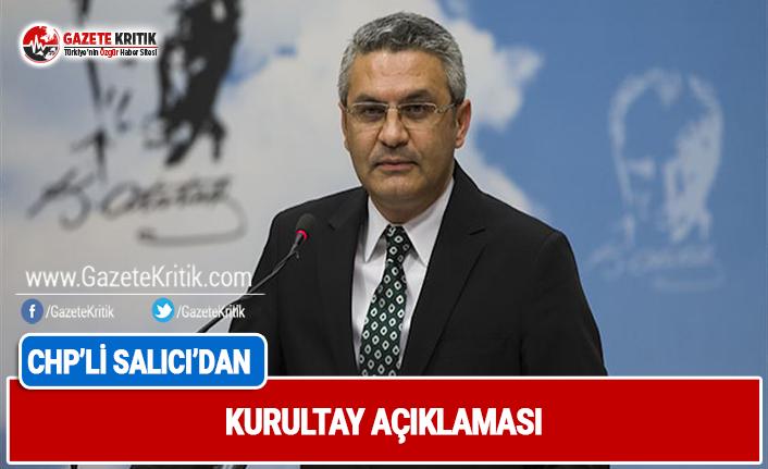 CHP'nin 2 numarası Oğuz Kaan Salıcı'dan kurultay açıklaması