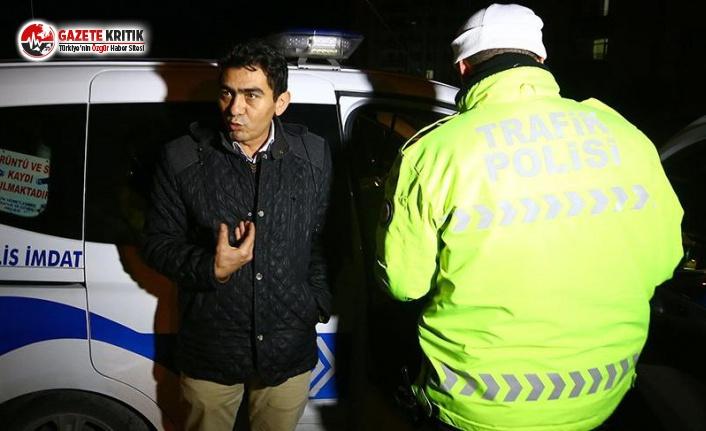 Ehliyetini Kaptırdı, 'Umre'ye Gittim Ne Alkolü' Dedi
