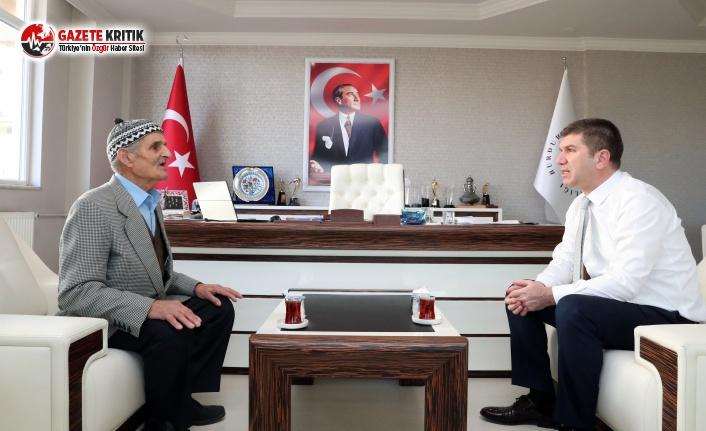 Emin Amca'dan Başkan Ercengiz'e ziyaret