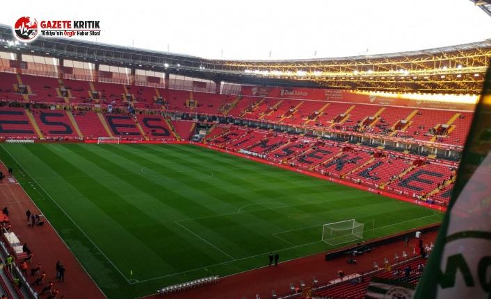 Eskişehirspor Stadyumu kapatıldı