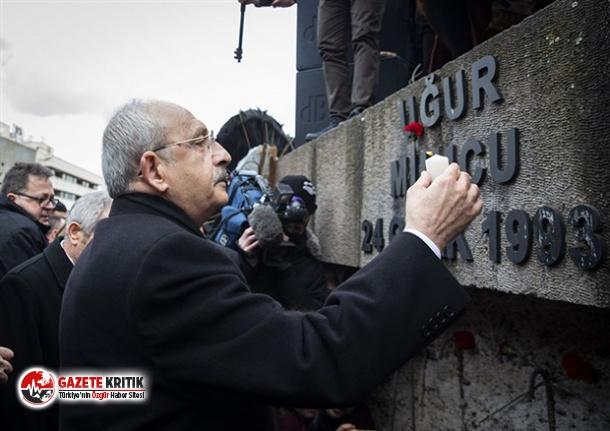 Kemal Kılıçdaroğlu, Uğur Mumcu'yu katledildiği yerde andı