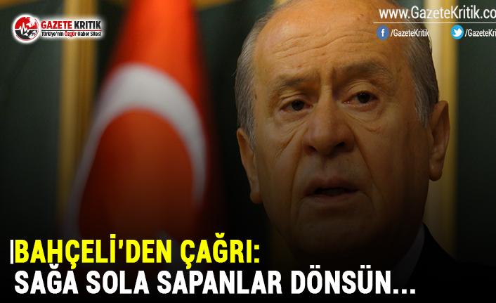 MHP Lideri Bahçeli'den partiden ayrılanlara dönün çağrısı