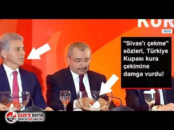 """TFF İcra Kurulu Üyesi Ali Düşmez'in, Türkiye Kupası kura çekimindeki """"Sivas'ı çekme"""" sözü tepki çekti"""