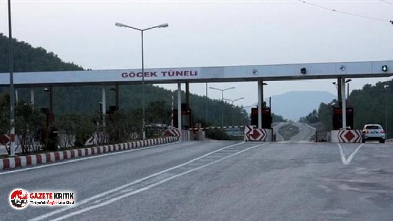 Türkiye'nin tek paralı tüneline de zam geldi!