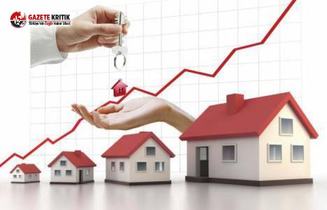 Üç büyük şehirde konut fiyatları yükseldi