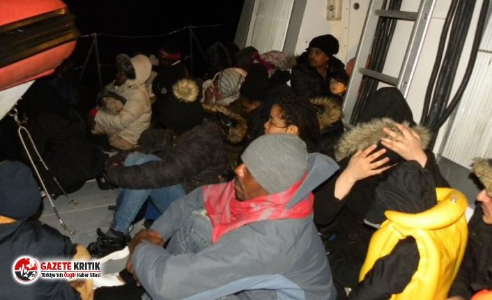 98 kaçak göçmen yakalandı