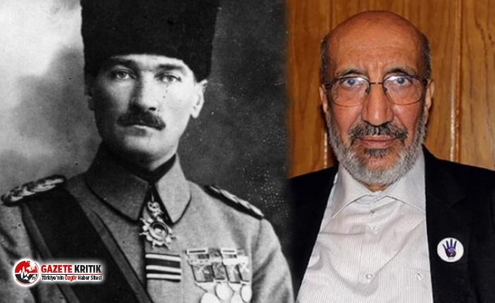 Abdurrahman Dilipak'tan Atatürk'e çirkin saldırı: Bu kez de zimmetle suçladı