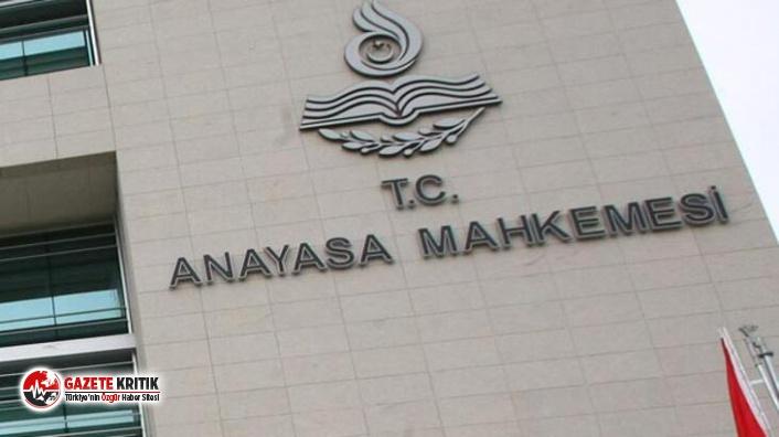 AYM'den son dakika kararı: 6 siyasi parti hakkında suç duyurusu