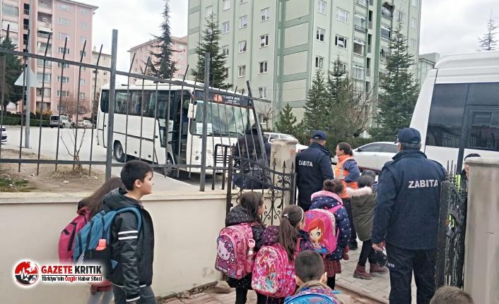 Burdur Belediyesi'nden Okul Servislerini Sıkı Denetim