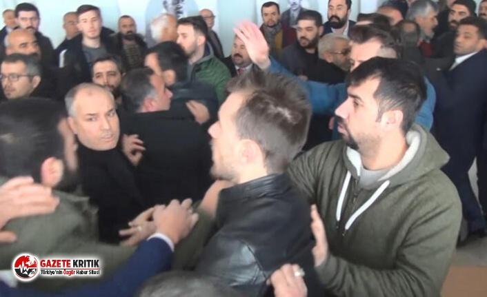 Çevik kuvvet salona girdi! CHP kongresinde arbede çıktı