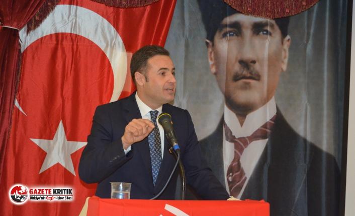 CHP'li Ahmet Akın: '' BALIKESİRLİLER ATATÜRK'E BAĞLILIKTAN ASLA VAZGEÇMEZ''