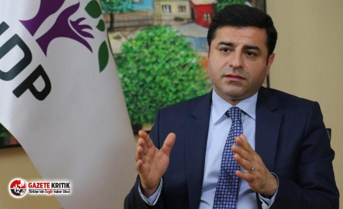 Demirtaş'ın HDP üyeliği düşürüldü