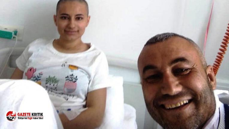En acı haber ...Kızıyla aynı odada ilik bekleyen baba Dünya Kanser Gününde vefat etti