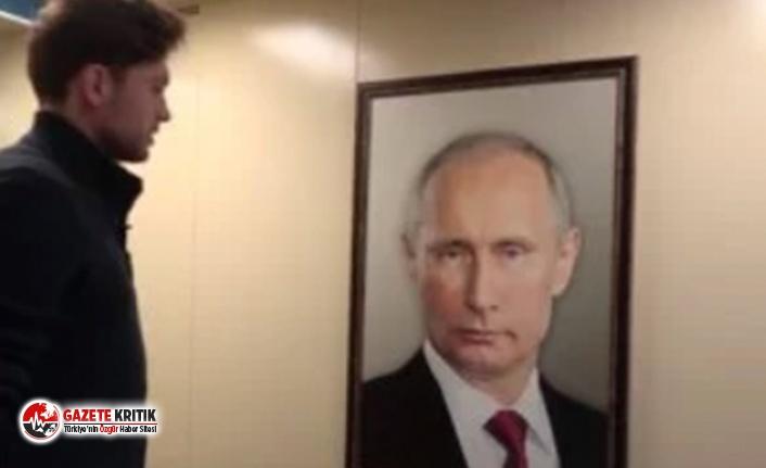 Evinizin asansöründe Putin'le karşılaşsanız ne yapardınız?