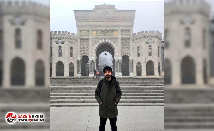 Geçim sıkıntısı yaşayan İstanbul Üniversitesi öğrencisi Hakan Taşdemir yaşamına son verdi
