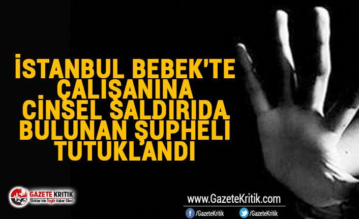 İstanbul Bebek'te çalışanına cinsel saldırıda bulunan şüpheli tutuklandı