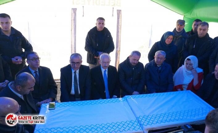 Kılıçdaroğlu'ndan çığ şehidi Jandarma Astsubay Çavuş Fatih Karagöz'ün ailesine ziyaret
