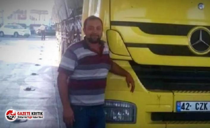 Konya'da yoksulluk intiharı; kendini kamyonuna astı!