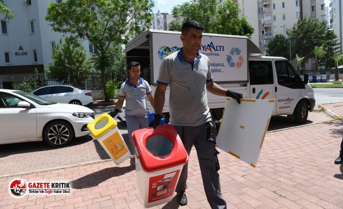 Konyaaltı Belediyesi atık yağ getirini ödüllendiriyor