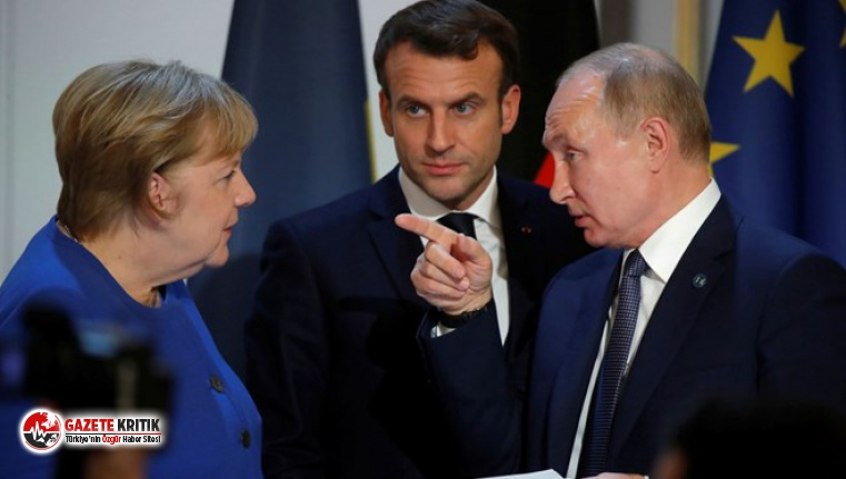 Merkel ve Macron'dan Rusya'ya İdlib çağrısı