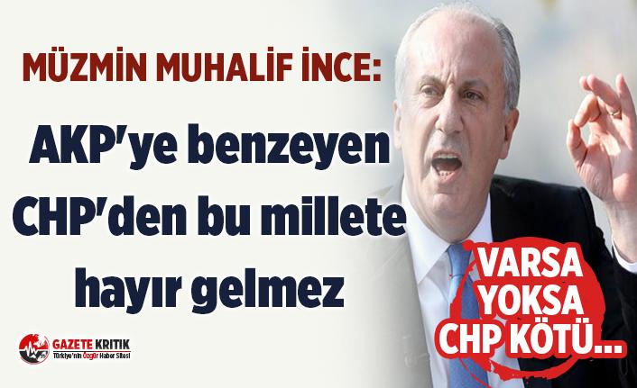 Müzmin Muhalif Muharrem İnce:CHP'deki 'Kurultay değil demokrasicilik oyunu'