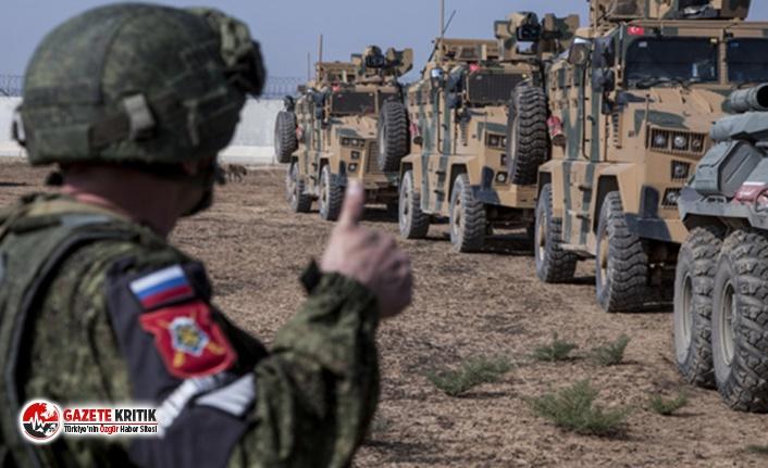 Rusya: Suriye'deki ortak devriye Türkiye olmadan yapıldı
