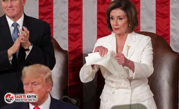 Trump'a büyük tepki! Konuşma metnini yırttı