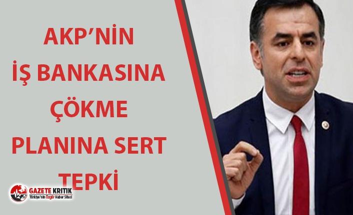 TULUMBADA SU KALMADIĞI İÇİN İŞ BANKASI'NA ÇÖKMEK İSTİYORLAR
