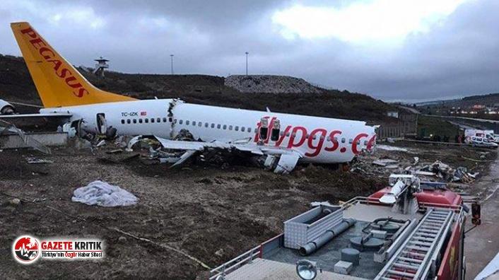 Uçak kazası hakkında şok gelişme!