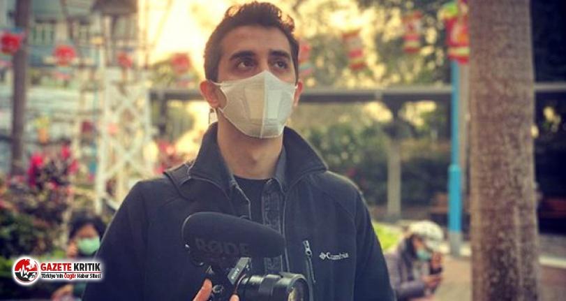 Ünlü YouTuber Çin'e gitti... Maskesiz video çekti!