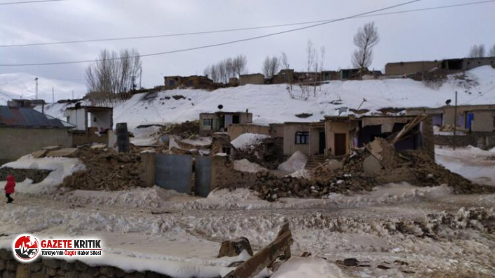 Van'da deprem... 7 ölü enkaz altında kalanlar var!