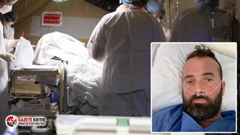 38 yaşındaki koronavirüs hastası yaşadıklarını anlattı: 'Su altında nefes almak gibiydi'
