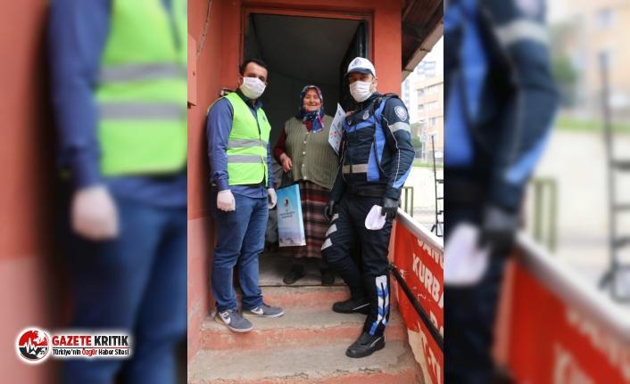 65 Yaş Üstü Vatandaşlara, Kartal Belediyesi'nden Yardım Eli