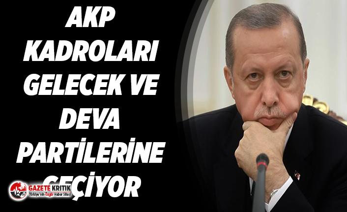 AKP kadroları yurt genelinde Gelecek ve DEVA partilerine geçiyor
