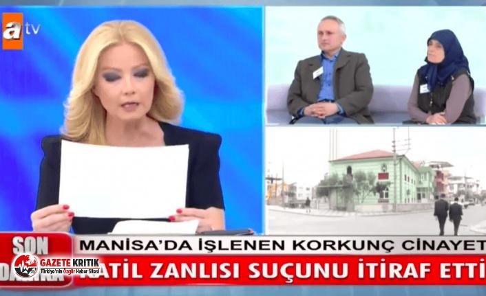 ATV Müge Anlı'da kan donduran cinayet itirafı