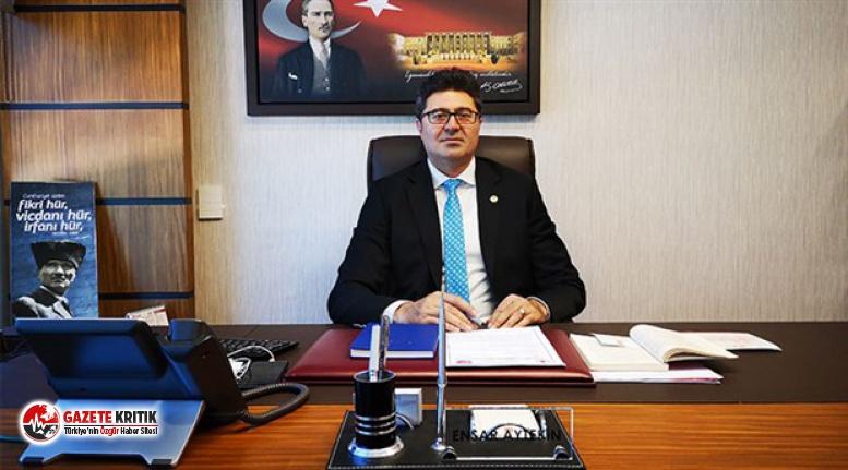CHP'Lİ AYTEKİN: ''ESNAF HEM İKTİDARIN HEM BANKALARIN MAĞDURU''