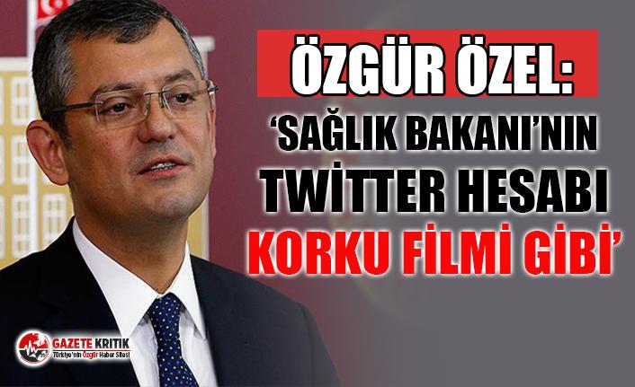 CHP'li Özgür Özel: Dünyada anlık güncelleme var, Türkiye'de gün biterken Sağlık Bakanı açıklıyor