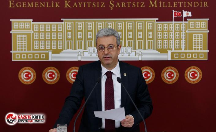 CHP'Lİ ANTMEN 'VATANDAŞ VİRÜSLE BAŞ BAŞA BIRAKILDI'