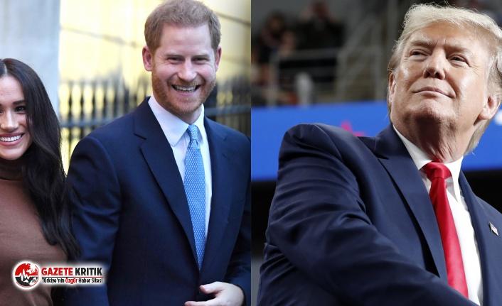 Donald Trump:ABD, Meghan Markle ve Prens Harry'nin güvenliği için ödeme yapmayacak!