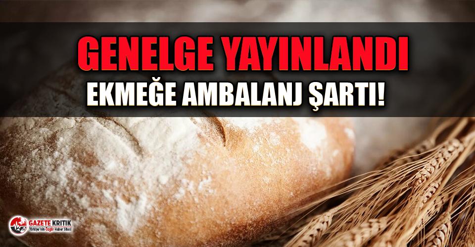 Ekmek satışında yeni dönem başladı: Ambalajsız ekmek satılamayacak!