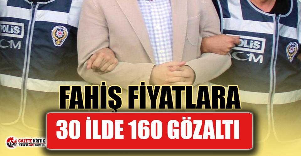 Fahiş fiyatla mal satanlara 30 ilde operasyon: 160 gözaltı