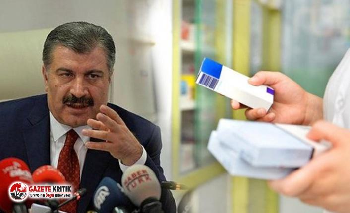 Fahrettin Koca açıkladı!  Koronavirüs tedavisinde kullanılan ilaç piyasadan toplandı
