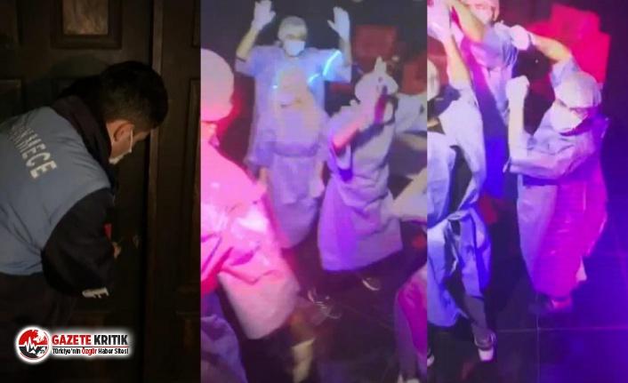 İstanbul'da koronavirüs partisi: Gözaltına alındılar
