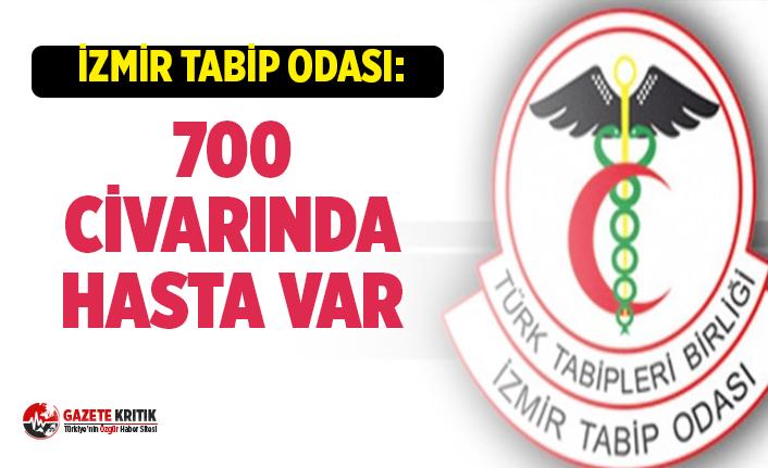 İzmir Tabip Odası Koronavirüs Raporu! 700 civarında pozitif vaka var