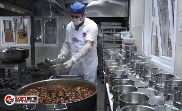 Maltepe'de 65 yaş üstüne sıcak yemek desteği
