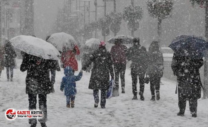 Meteoroloji uyardı: Birçok şehre kar geliyor