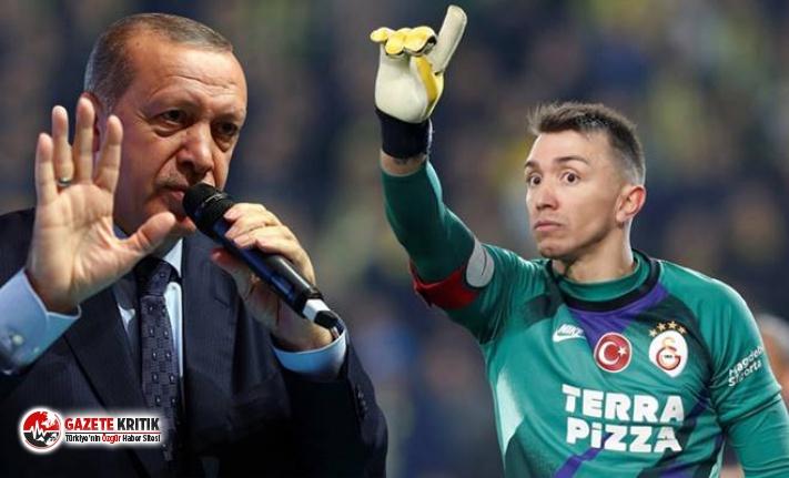 Muslera'dan Erdoğan eleştirisi:Dini Koronovirüs'ün önüne geçirdi ve işler zorlaştı