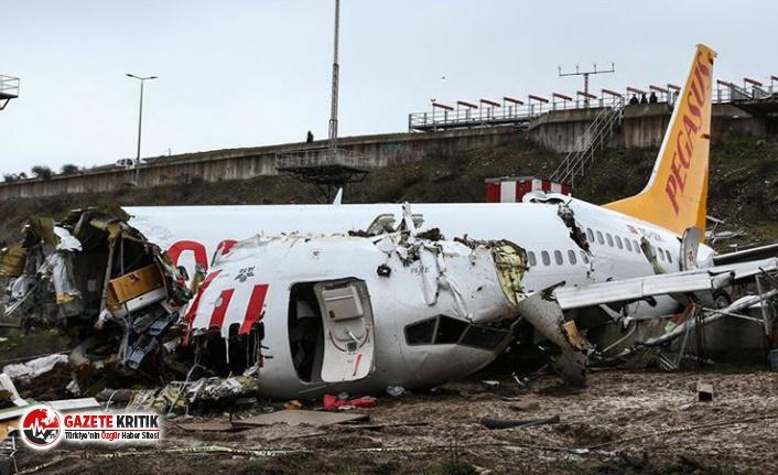 Sabiha Gökçen kazasında tutuklanan pilot ev hapsi koşuluyla tahliye edildi