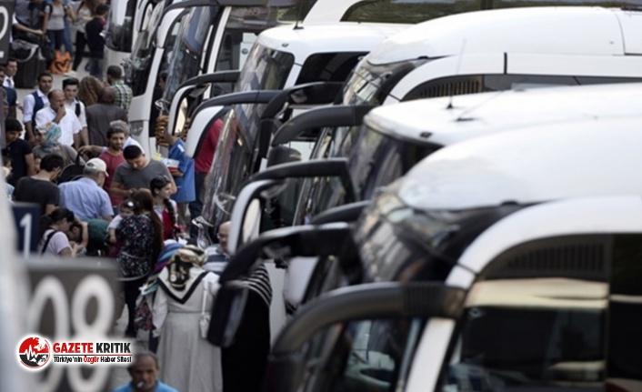 Şehirlerarası yolcu taşımacılığı durdu...Otobüs biletleri zamlanıyor!